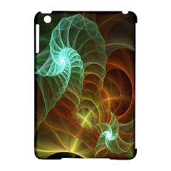 Art Shell Spirals Texture Apple Ipad Mini Hardshell Case (compatible With Smart Cover)