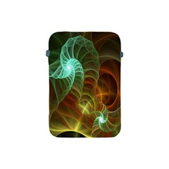 Art Shell Spirals Texture Apple iPad Mini Protective Soft Cases