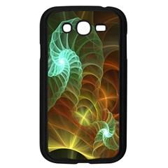 Art Shell Spirals Texture Samsung Galaxy Grand DUOS I9082 Case (Black)