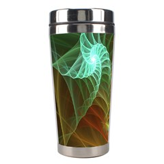 Art Shell Spirals Texture Stainless Steel Travel Tumblers