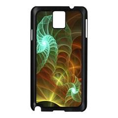 Art Shell Spirals Texture Samsung Galaxy Note 3 N9005 Case (black)