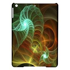Art Shell Spirals Texture iPad Air Hardshell Cases