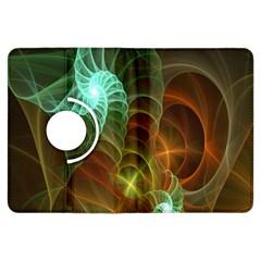 Art Shell Spirals Texture Kindle Fire Hdx Flip 360 Case