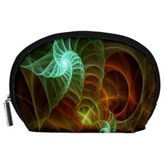 Art Shell Spirals Texture Accessory Pouches (Large)