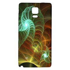 Art Shell Spirals Texture Galaxy Note 4 Back Case