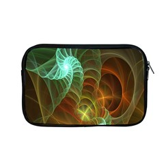 Art Shell Spirals Texture Apple Macbook Pro 13  Zipper Case