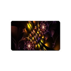 Art Design Image Oily Spirals Texture Magnet (Name Card)