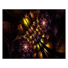 Art Design Image Oily Spirals Texture Rectangular Jigsaw Puzzl