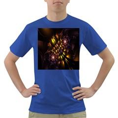 Art Design Image Oily Spirals Texture Dark T Shirt