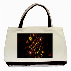 Art Design Image Oily Spirals Texture Basic Tote Bag