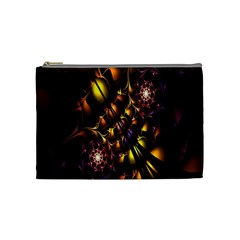 Art Design Image Oily Spirals Texture Cosmetic Bag (Medium)