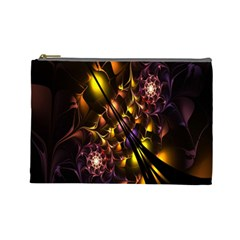 Art Design Image Oily Spirals Texture Cosmetic Bag (large)