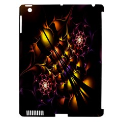 Art Design Image Oily Spirals Texture Apple iPad 3/4 Hardshell Case (Compatible with Smart Cover)