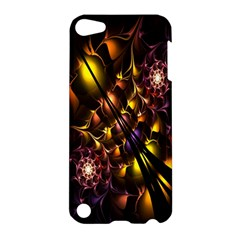 Art Design Image Oily Spirals Texture Apple Ipod Touch 5 Hardshell Case