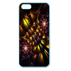 Art Design Image Oily Spirals Texture Apple Seamless iPhone 5 Case (Color)