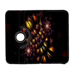 Art Design Image Oily Spirals Texture Galaxy S3 (Flip/Folio)