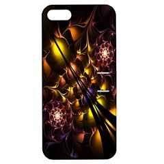 Art Design Image Oily Spirals Texture Apple iPhone 5 Hardshell Case with Stand