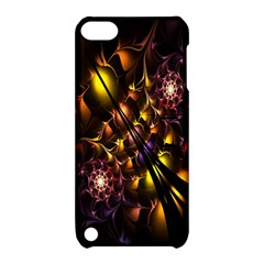 Art Design Image Oily Spirals Texture Apple iPod Touch 5 Hardshell Case with Stand