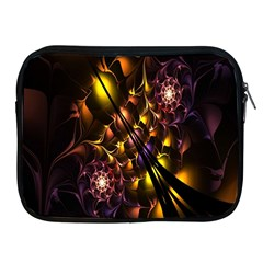 Art Design Image Oily Spirals Texture Apple iPad 2/3/4 Zipper Cases