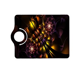 Art Design Image Oily Spirals Texture Kindle Fire HD (2013) Flip 360 Case