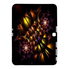 Art Design Image Oily Spirals Texture Samsung Galaxy Tab 4 (10.1 ) Hardshell Case