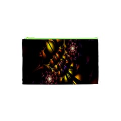 Art Design Image Oily Spirals Texture Cosmetic Bag (XS)