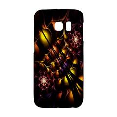 Art Design Image Oily Spirals Texture Galaxy S6 Edge