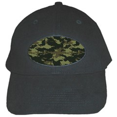 Camo Pattern Black Cap