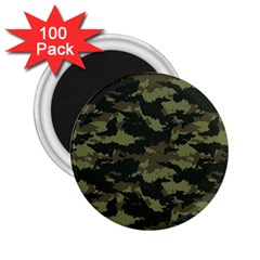 Camo Pattern 2 25  Magnets (100 Pack)