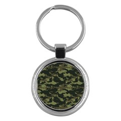 Camo Pattern Key Chains (round)