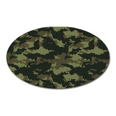 Camo Pattern Oval Magnet