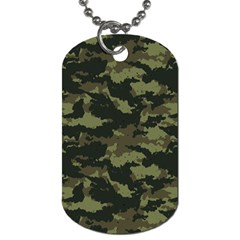 Camo Pattern Dog Tag (Two Sides)