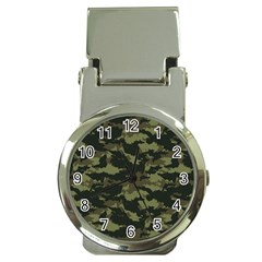 Camo Pattern Money Clip Watches