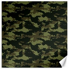 Camo Pattern Canvas 12  x 12