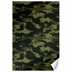 Camo Pattern Canvas 20  X 30