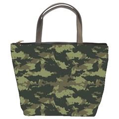 Camo Pattern Bucket Bags