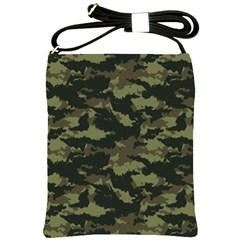 Camo Pattern Shoulder Sling Bags