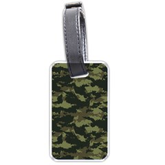 Camo Pattern Luggage Tags (One Side)