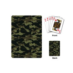Camo Pattern Playing Cards (Mini)