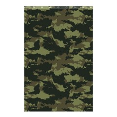 Camo Pattern Shower Curtain 48  X 72  (small)