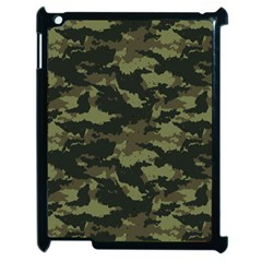 Camo Pattern Apple iPad 2 Case (Black)