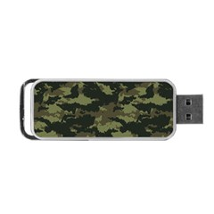 Camo Pattern Portable USB Flash (One Side)