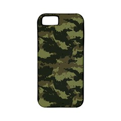 Camo Pattern Apple iPhone 5 Classic Hardshell Case (PC+Silicone)