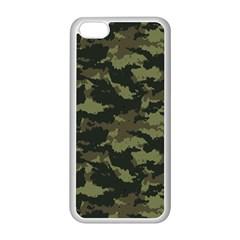 Camo Pattern Apple iPhone 5C Seamless Case (White)