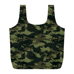 Camo Pattern Full Print Recycle Bags (L)
