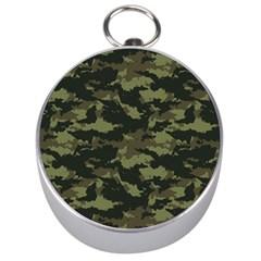 Camo Pattern Silver Compasses