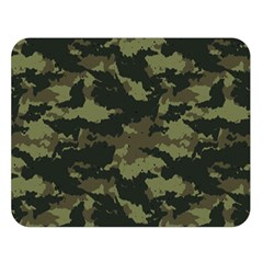 Camo Pattern Double Sided Flano Blanket (large)