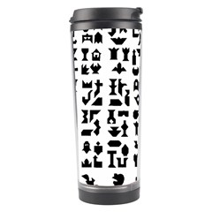 Anchor Puzzle Booklet Pages All Black Travel Tumbler