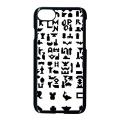 Anchor Puzzle Booklet Pages All Black Apple Iphone 7 Seamless Case (black)