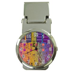 Circuit Board Pattern Lynnfield Die Money Clip Watches